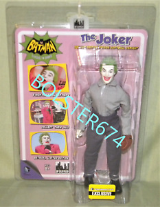 "JOKER PRISON SOFTBALL DC Batman Classic 1966 TV 8"" EE EXC. Mego Figures Toy Co"