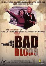 Jack Thompson BAD BLOOD - BIZARRE POLICE KILLER MAN HUNT THRILLER TRUE STORY DVD