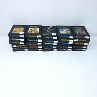 Vintage Atari 2600 Games - Lot of 25 Games no duplicates (mix 2)
