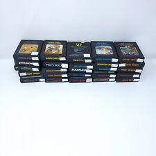 Vintage Atari 2600 Games - Lot of 25 Games no duplicates (mix 2)