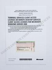 Windows Server 2008 / R2 Terminal Services 5 CAL RDS HP Remote Desktop VAT