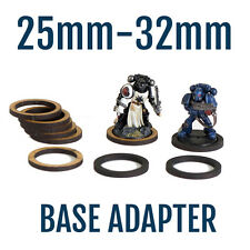 100X 25mm to 32mm Base Adapters for WH40K Space Marine Miniatures