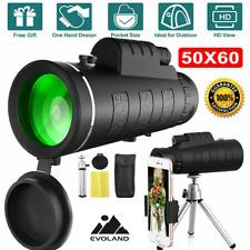 HD Monocular teleskop Fernglas 50X60 nachtsicht starscope Zoom handy spektiv