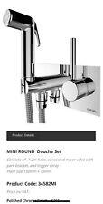 Cifial Douche Bidet Shower Toilet Brass Chrome Sprayer Silver Plate RRP £269