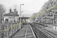 Eden Park Railway Station Photo. Elmers End - West Wickham. Hayes Line. (4)