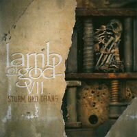Lamb Of God VII: Sturm et Drang (2015) 10-track Album CD Neuf/Scellé