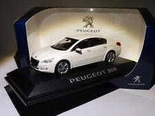 Norev 4758001 1/43 Peugeot 508 2010 Blanc Nacré (boîte Peugeot)