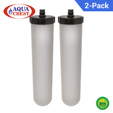 2 x Multi-Stage Ceramic Water Filter Candle Replacement for FilterLogic FL-002