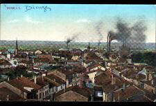 DUSS I.L. / DIEUZE (57) USINE , VILLAS & EGLISE en 1919