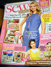 sew home Issue 47 May 2013 free gift's are no longer with this magazine.