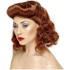 Pin Up Girl Wig Costume Accessory Adult Halloween