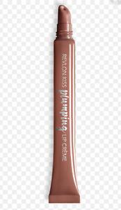 Revlon Kiss PLUMPING Lip Creme Gloss Plump 515 ALMOND SUEDE