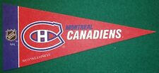 MONTREAL CANADIENS NHL MINI PENNANT, NEW & MADE IN USA