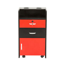 Premium Locking Rolling Trolley Cart Storage with Removable Drawer Tray