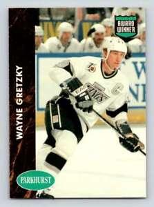 1991-92 Parkhurst Final Update SP #465 Wayne Gretzky AW  Kings