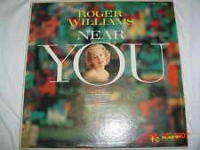 ROGER WILLIAMS NEAR YOU KAPP 33 LP 1958 VERY GOOD CHEAP