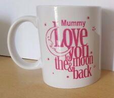 Mummy Love You Moon & Back Mug Novelty Gift Birthday Present Idea Family Friends
