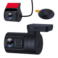 Blueskysea Mini 0906 1080P Dual Full HD Lens Car Dash Cam GPS Loop Recording RC