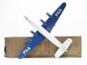 Vintage Large Pressed Steel Marx Pan Am Meteor  PAA Airplane