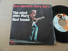 "DISQUE 45T DE JIMI HENDRIX STORY VOL.3  "" THE WIND CRIES MARY """