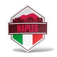 Sticker NAPOLI Adesivo Parete Souvenir Decal Laptop Murale Casco Auto Moto