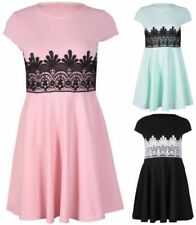 Lace Mini Dresses for Women with Cap Sleeve