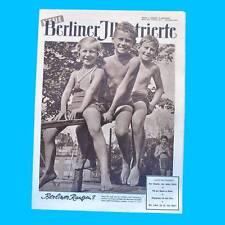 NBI 24/1954 DDR - Queen Elisabeth in Afrika Kindermode Prag Berlin Haut-Typen