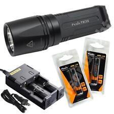 Fenix TK35 L2 Cree LED 900 Lumen Flashlight w/Two Fenix ARB-L2S Batteries & i2