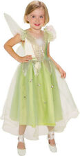 Tinkerbell Princess Tinker Bell Fairy Pixie Dress Up Halloween Child Costume