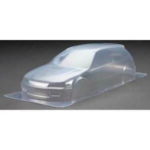 Tamiya America Inc Clear Body Set Castrol Honda Civic VTi