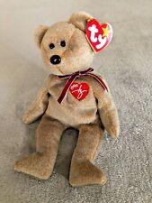Ty Beanie Babies Extremely Rare - Signature Bear  (BRAND NEW TAG)