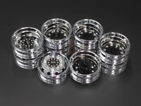 Tamiya 1:14 Tractor Trucks Wheels Electroplated wheels for MAN 56325 6x4 truck