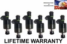 Genuine Rochester Set Of 6 Fuel Injectors for Pontiac Chevy Camaro  Buick  3.8L