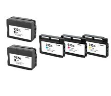 5-Pack 5Pk Compatible 932XL 933XL Ink Cartridge For HP Officejet 6100 6600 6700