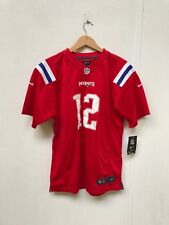 New England Patriots Nike Kid's 2018 Alt Jersey - 18-20 Years - No Name 12 - New