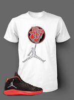 "Tee Shirt to Match  Air Jordan 6 Black Infrared Shoe  Ultra Fly Men""s T Shirt"
