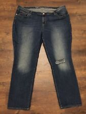 Womens OLD NAVY Boyfriend Straight Destroyed Jeans, Size 20 Reg GREAT CONDITION!