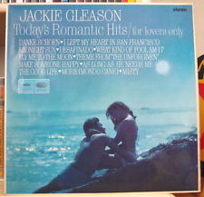 JACKIE GLEASON TODAY'S ROMANTIC HITS LOVERS COVER UK PRESS LP CAPITOL 1964