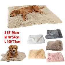 Puppy Pet Plush Blanket Dog Sleeping Mat Warer Fluffy Wool Blanket Winter