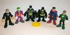 New ListingDc Super Hero Imaginext Batman Joker Superman Justice League 6 Figures