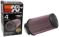 "RE-0870 K&N Universal Rubber Air Filter 4""FLG, 6""OD-B, 4-5/8""OD-T, 9""H (KN Unive"