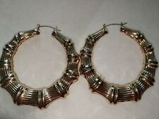 Size Statement Piece Golden Hoop Earrings Huge