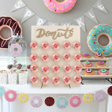 20 Donut Doughnut Wall Stand Birthday Sweets Favour Candy Carts Party Wedding