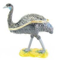 Emu Diamanti Decorated Jewelled Trinket Box or Figurine approx 9cm High