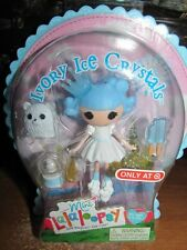 NEW MINI LALALOOPSY IVORY ICE CRYSTALS DOLL Target exclusive VHTF