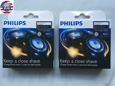 2 packs For Philips Norelco RQ11 Replacement Heads SensoTouch 1160x 1170x 1180x