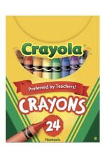 Crayola® Classic Color Crayons, Tuck Box, 24 Colors 071662100247