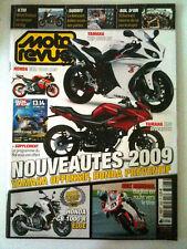 N°3823 MOTO REVUE  Nouveautés 2009/ programme Bol d'Or