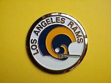 NFL 1970 Los Angeles Rams Football Helmet 1 bar Medallion