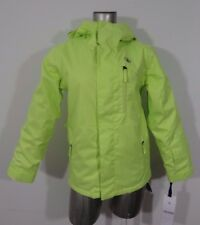Volcom Elias youth warm insulated snowboard jacket 8k bright neon green M new